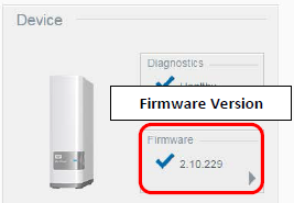 My Cloud Firmware