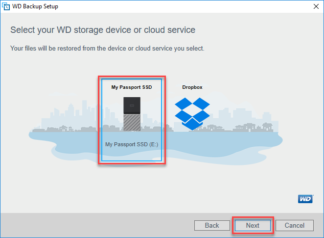 How to restore a WD Backup on a different computer