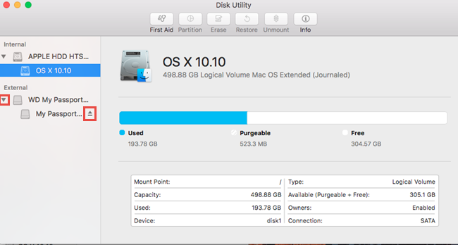 How to Partition and Format a WD Drive on macOS El Capitan