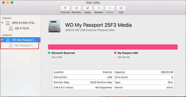 How to Partition and Format a WD Drive on macOS El Capitan, Sierra
