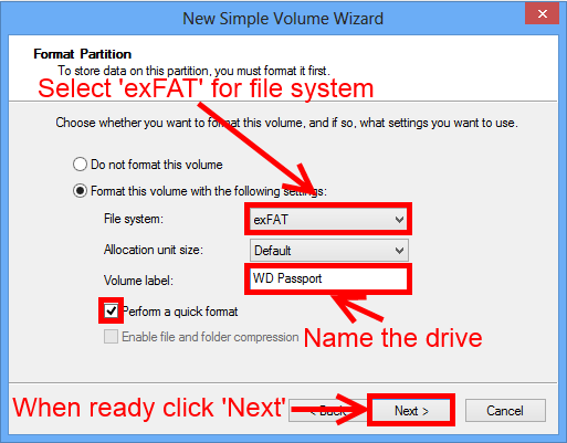 How To Format A Wd Hard Drive In Exfat Or Fat32 Wd Support