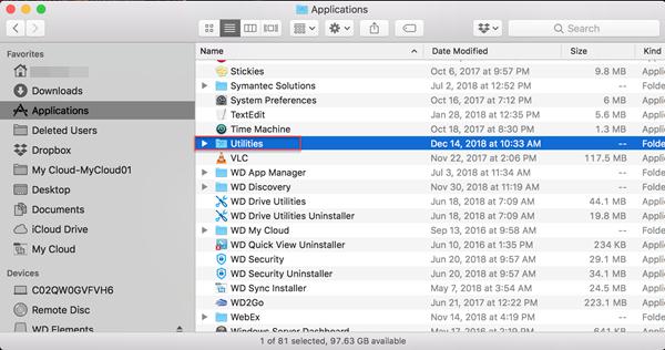 formatage disque dur externe wd pour mac