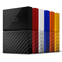 Western Digital My Passport hard drives