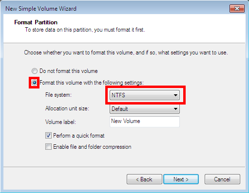 How to change the format type file system of a hard drive or image the volume label ccuart Gallery