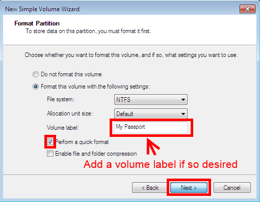 How to change the format type file system of a hard drive or image ccuart Gallery