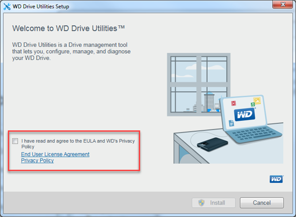 How to install WD Security & WD Drive Utilities