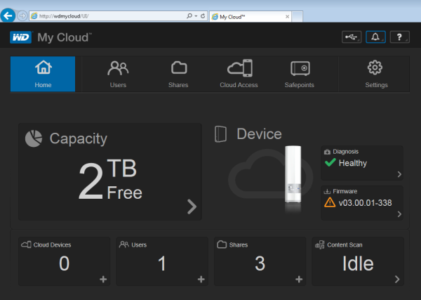 How to backup files without the Web Interface - My Cloud