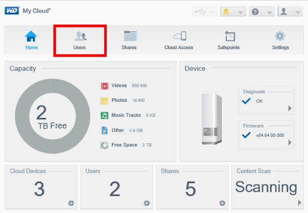 how to add family and friends to a my cloud device wd support