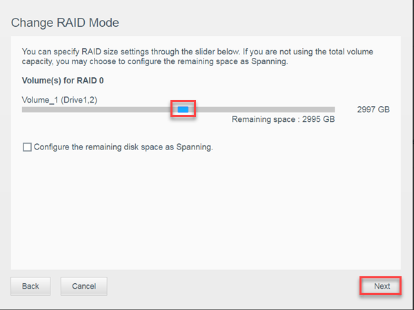 Replacing an internal drive on a multi-bay My Cloud device