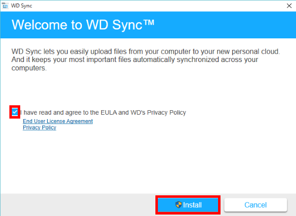 installing wd sync on windows wd support rh support wdc com Instruction Manual Book Manuals in PDF