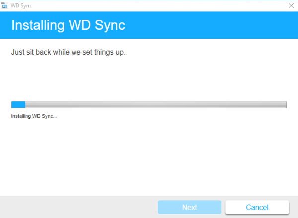 Installing Wd Sync On Windows Wd Support