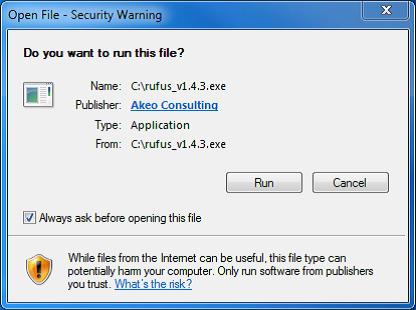 Creating a bootable Linux WD Ubuntu USB flash drive to