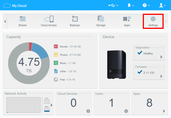 how to create a remote backup on a my cloud device wd support