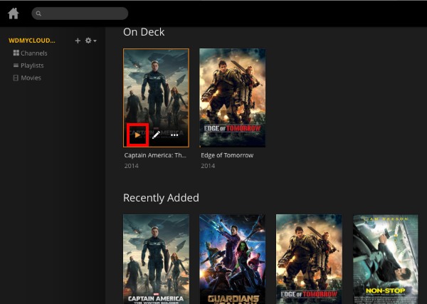 how to add movies to plex library