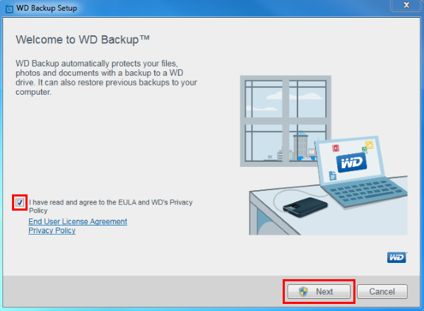 WD Backup Software