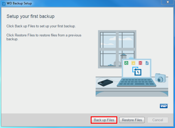 how to check my backup drive