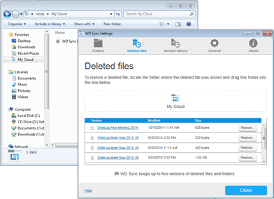 How To Access And Recover A Deleted File Or Folder With Wd