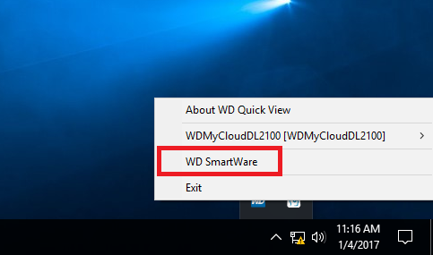 Retrieving previously backed up content using WD SmartWare 2 0 or higher