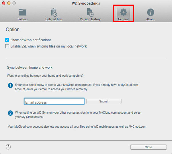 How to Enable SSL for Local Data Transfer in WD Sync for macOS