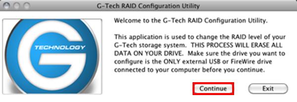How To Change The Raid Settings On A G Raid Mini G