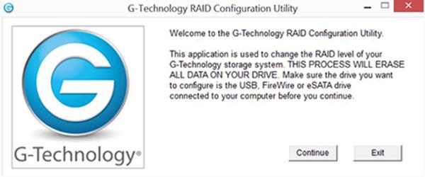 How To Change The Raid Settings On A G Raid Gen 7