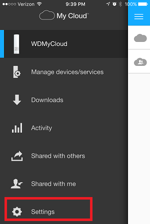 Unable to login to My Cloud mobile app with