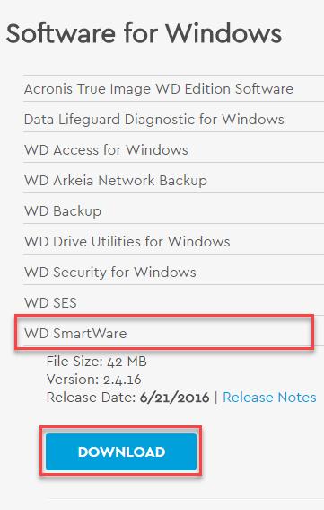wd smartware pro activation key