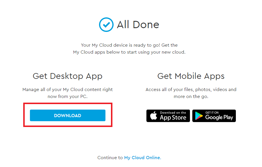 my cloud home desktop app online user guide for information