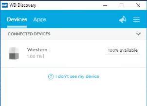 My Cloud Home Desktop App Drive Not Mounted on Windows 10 Version 1703
