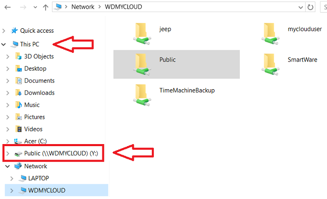 How To Map a WD Network Drive on Windows 10
