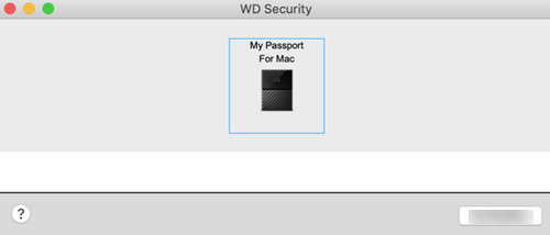 WD Security Will Not Allow My Passport or My Book to be