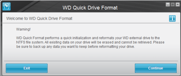 western digital my passport reformat for mac