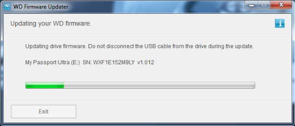 driver wd my book 1130 usb device