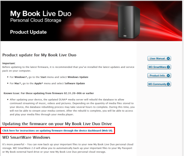 my book live duo manual
