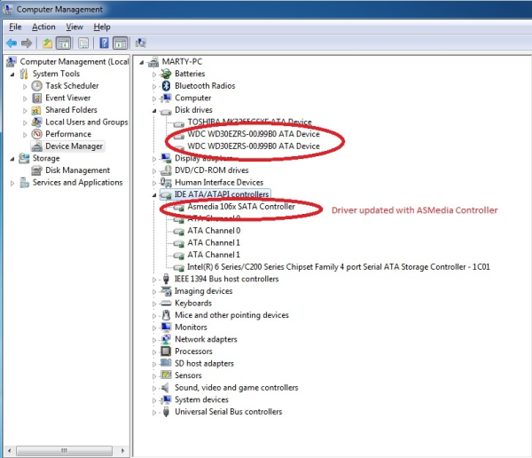 Download driver Broadcom HT1000 SATA Controller(AMD64 Release)