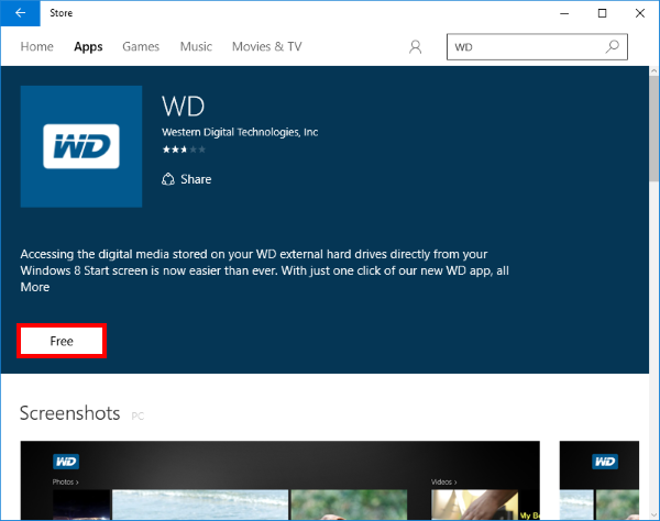 How to install WD App in Windows 8 and Windows 10 | WD Support