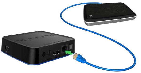 How to configure the Network Settings on the WD TV Play Media Player ...