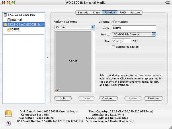 format hard drive