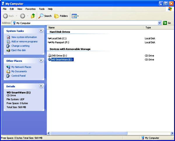 Wd Smartware For Windows 7