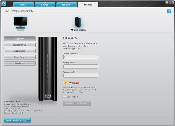 wd smartware software