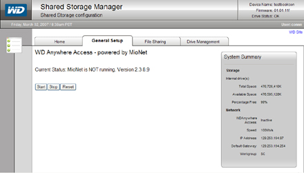 wd anywhere access