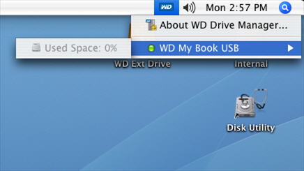 Does WD Drive Manager show different colors for issues with single